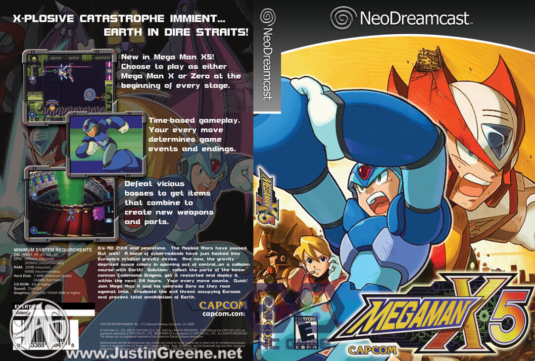Download Megaman X5 Full PC link FShare