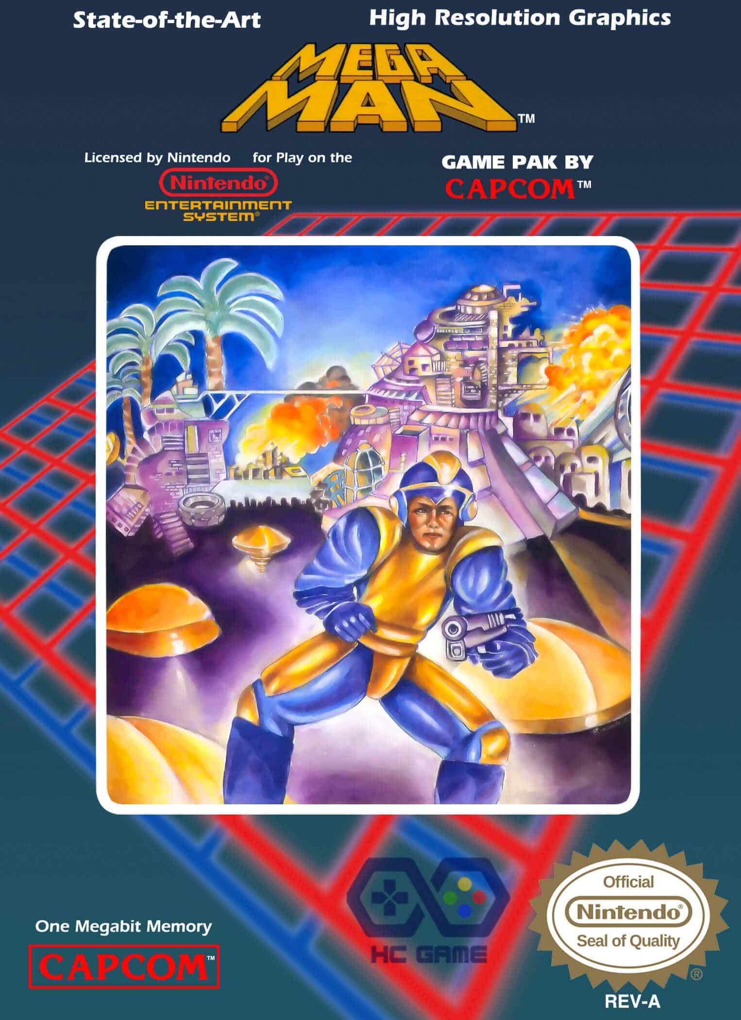 download rockman 1 giả lập NES trên PC