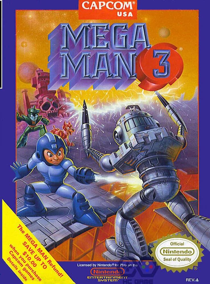 download rockman 3 giả lập NES trên PC
