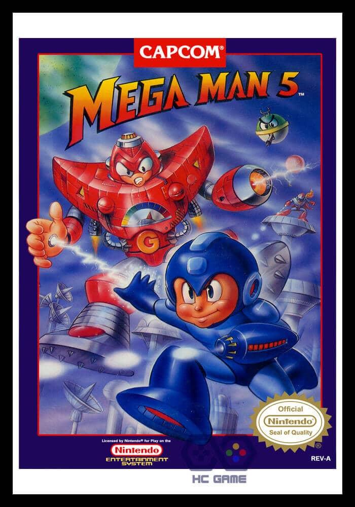 download rockman 5 giả lập NES trên PC