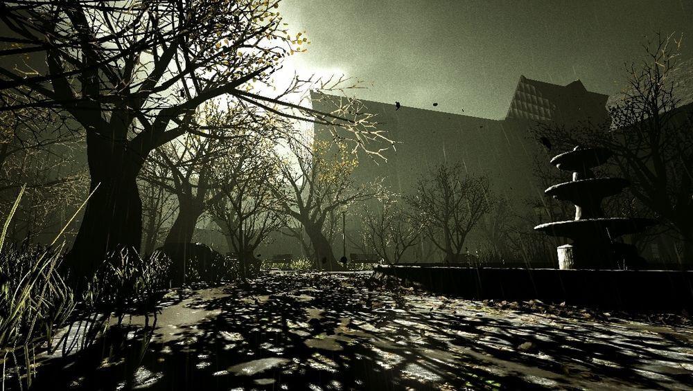 Chương 5: Courtyard ( Sân sau của bệnh viện )