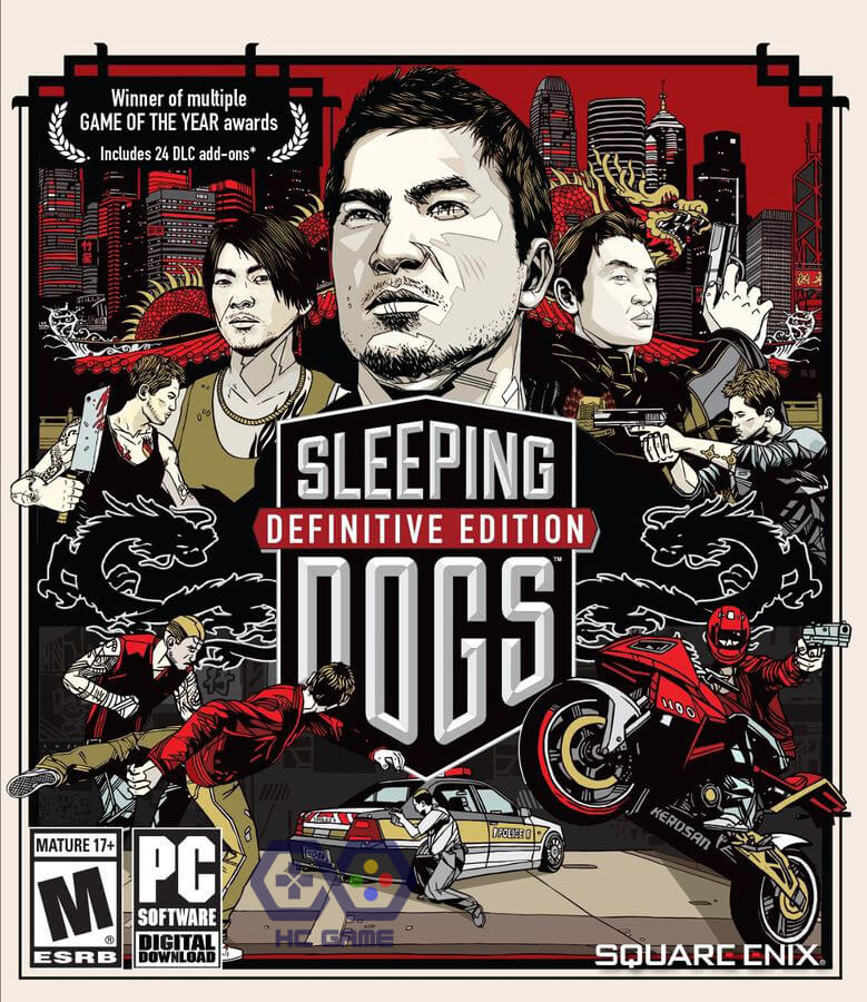 tải Sleeping Dogs Limited Edition (2012) Crack PC
