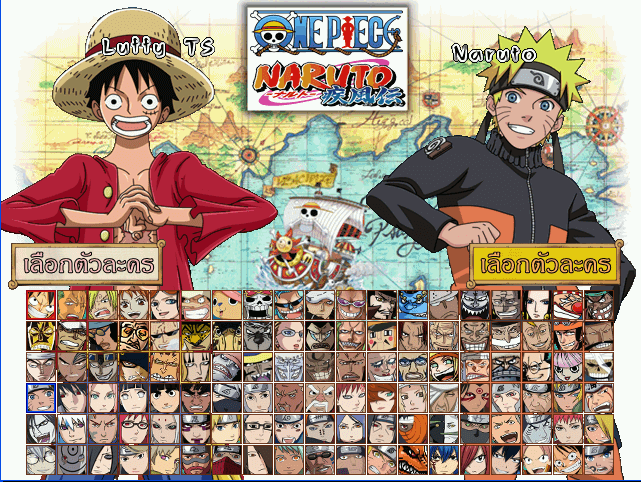 Download ONEPIECE x NARUTO Special M u g e n V 2 Game Full