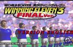 Winning eleven 3 (version English) - 0.2GB